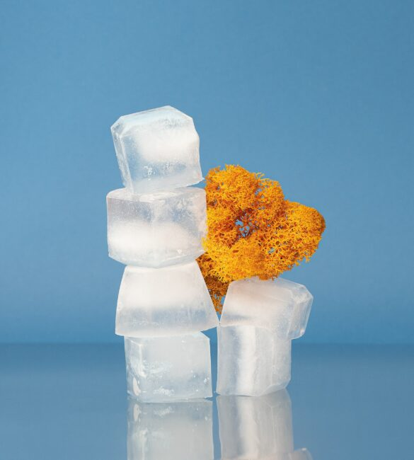 Funky ice cubes